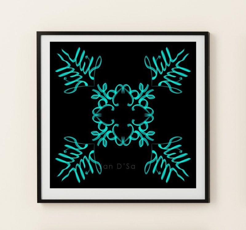 Be Cool - Geometric Art - High Quality Digital Art Prints-2581
