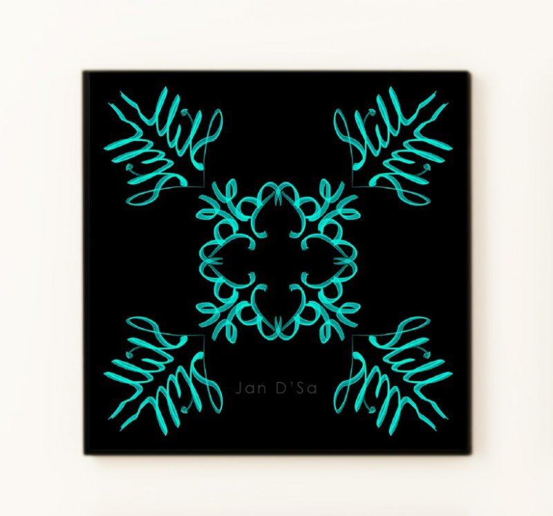 Be Cool - Geometric Art - High Quality Digital Art Prints-2582