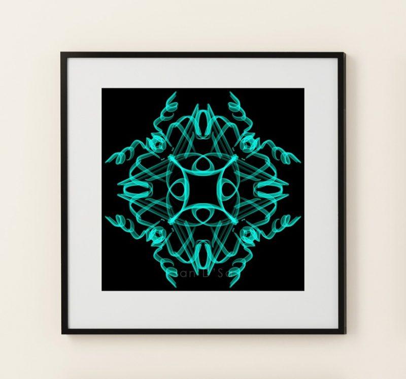 Be Cool - Geometric Art - High Quality Digital Art Prints-2595
