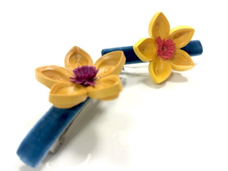 Floral Hairclips-2987