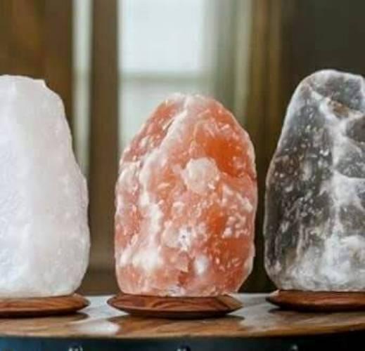 Natural (XL) Himalayan Salt Lamp - Himalayan Salty Treasures-1716