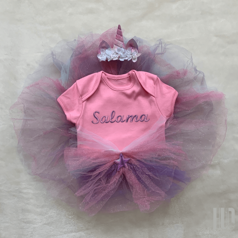 Unicorn dress up set (6 months to 3 years old)-0