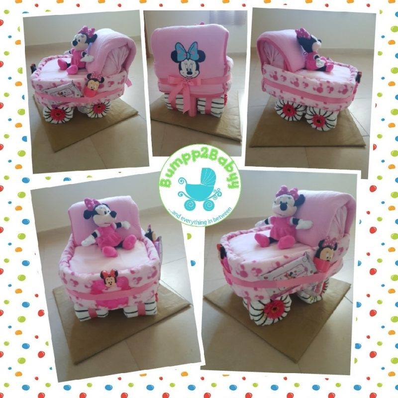 Twit Twwoo…. I Love You Owl nappy / diaper cake (made to order )-0