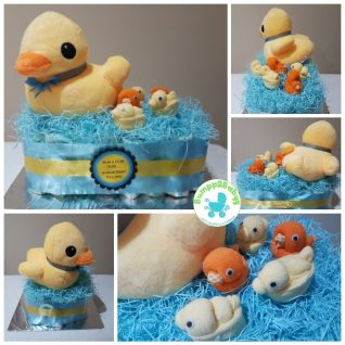 Twit Twwoo…. I Love You Owl nappy / diaper cake (made to order )-2204