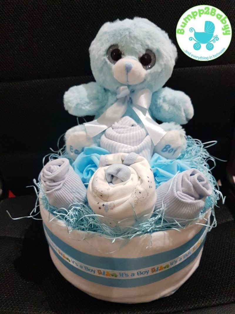 Twit Twwoo…. I Love You Owl nappy / diaper cake (made to order )-2192
