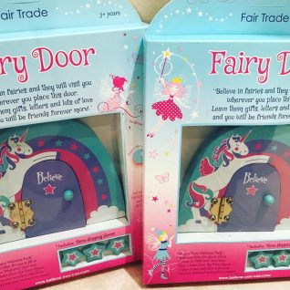 Unicorn Fairy Door-0