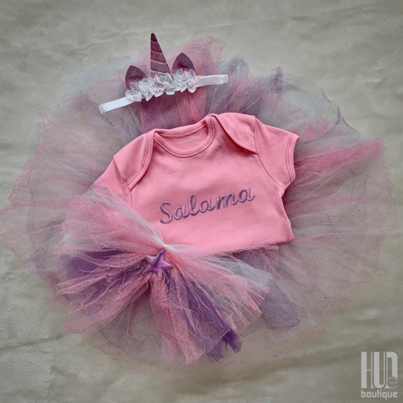 Unicorn dress up set (6 months to 3 years old)-2688