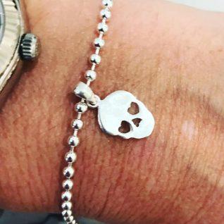Skull bracelet-0