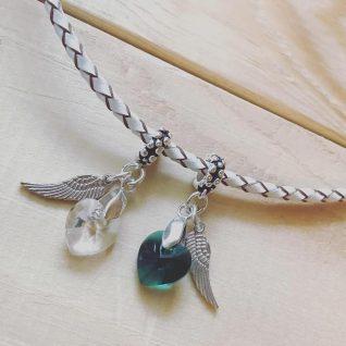 Swarovski crystal heart charm-0