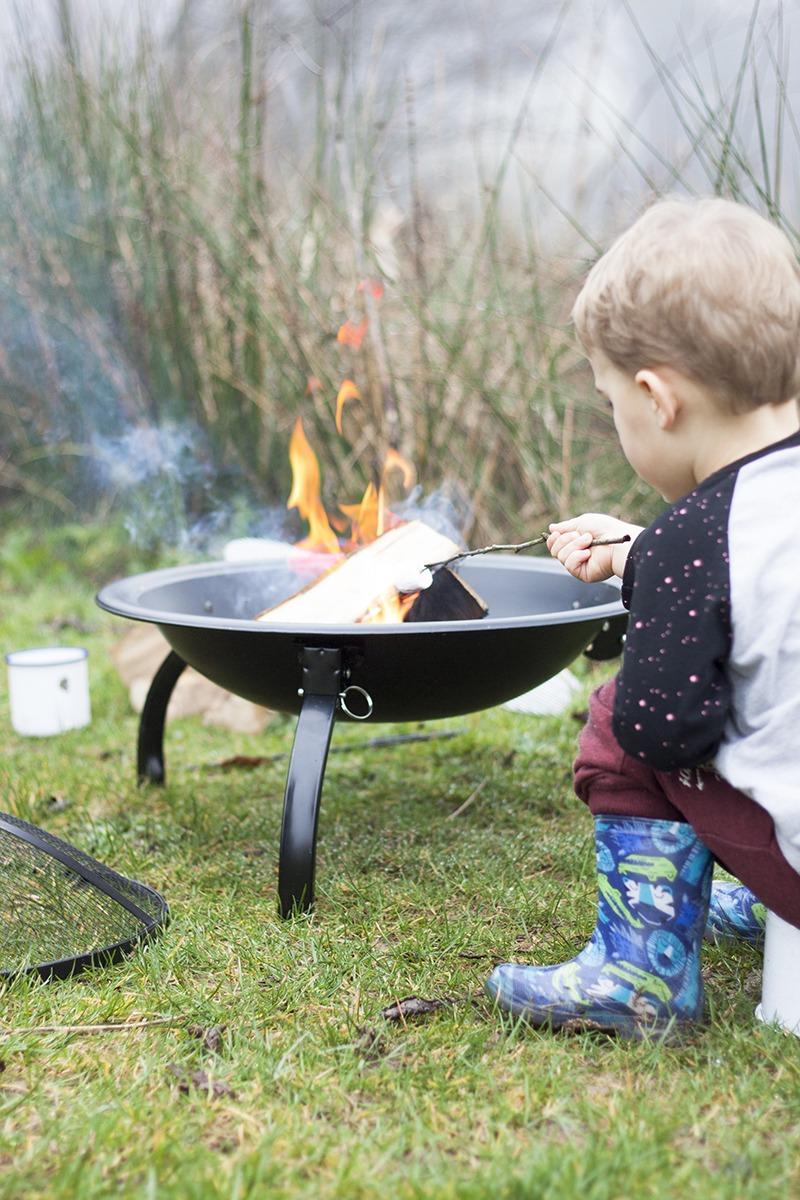 La Hacienda Camping Firepit-0