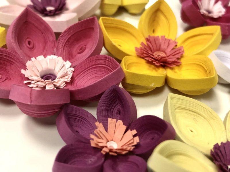 Floral Hairclips-0