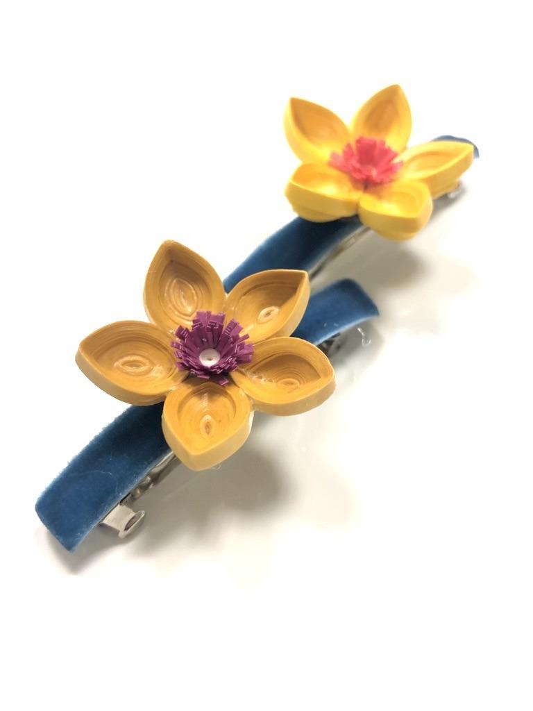 Floral Hairclips-2988