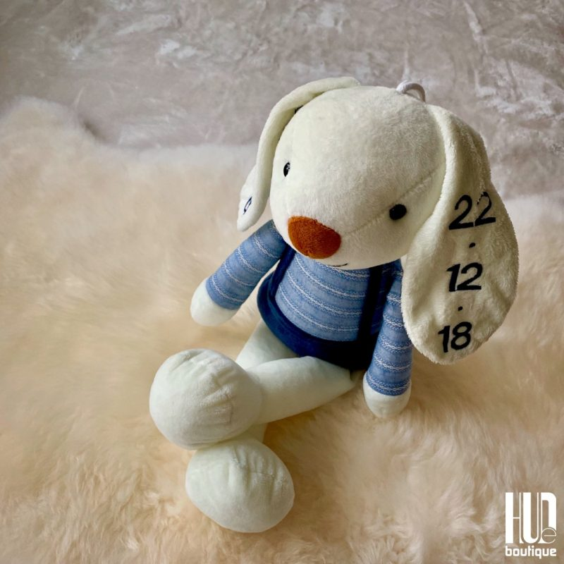 Personalized Embroidered Easter Bunny-0