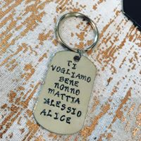 Personalised Keyring-0