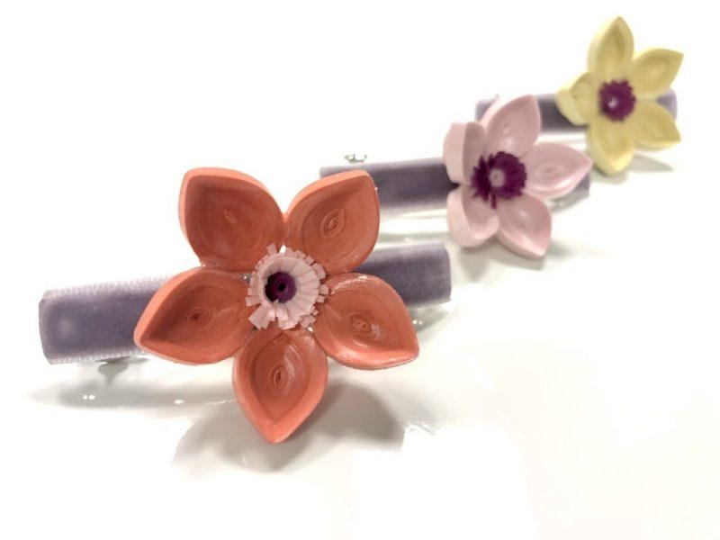 Floral Hairclips-2986