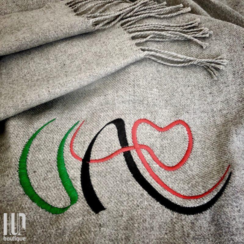 Custom Embroidered UAE Shawl-1997