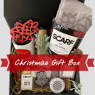 Merry Christmas Gift Box Large-0
