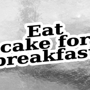 Typography - Eat cake-0