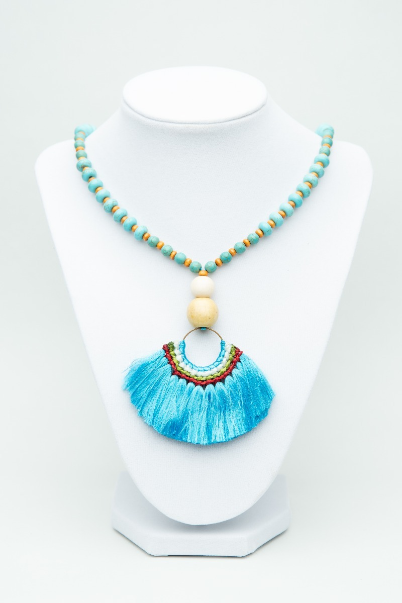 Boho necklace-0
