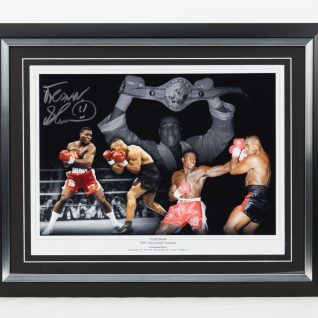 Frank Bruno Signed Picture-0
