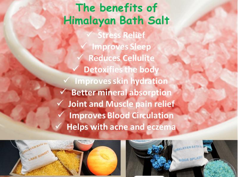 Bath Salt Variety Bundle 1.75kg - from Himalayan Salty Treasures-2396