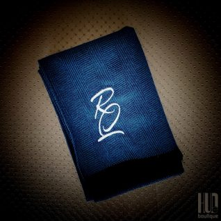Personalized Embroidered Scarf for Men-0