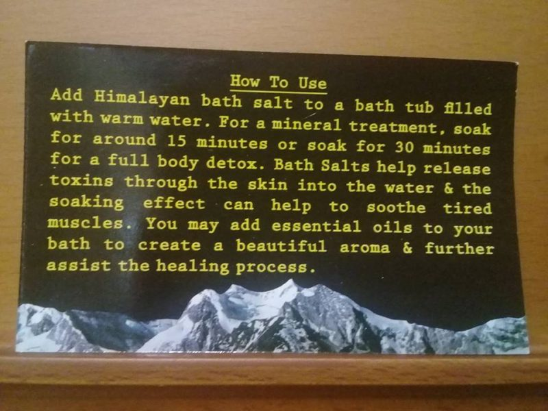 Bath Salt Variety Bundle 1.75kg - from Himalayan Salty Treasures-2398