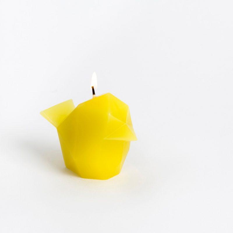 Pyropet Kisa Cat Candle – Pink-2726