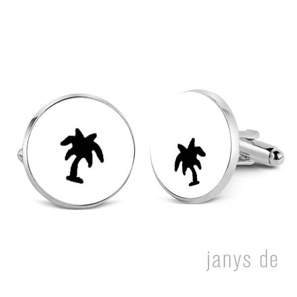 palm tree cufflinks set of 1 including shipping-0