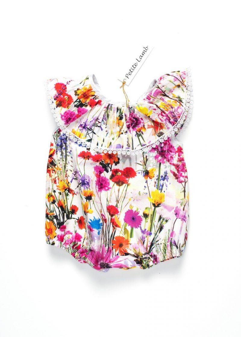 Blossom collar romper-0