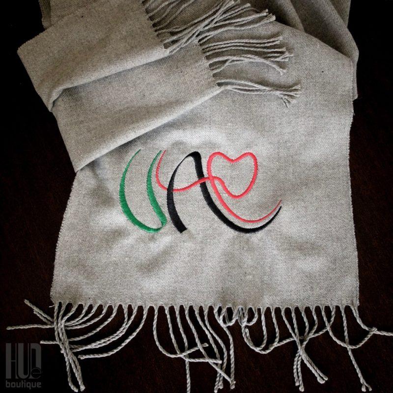Custom Embroidered UAE Shawl-0