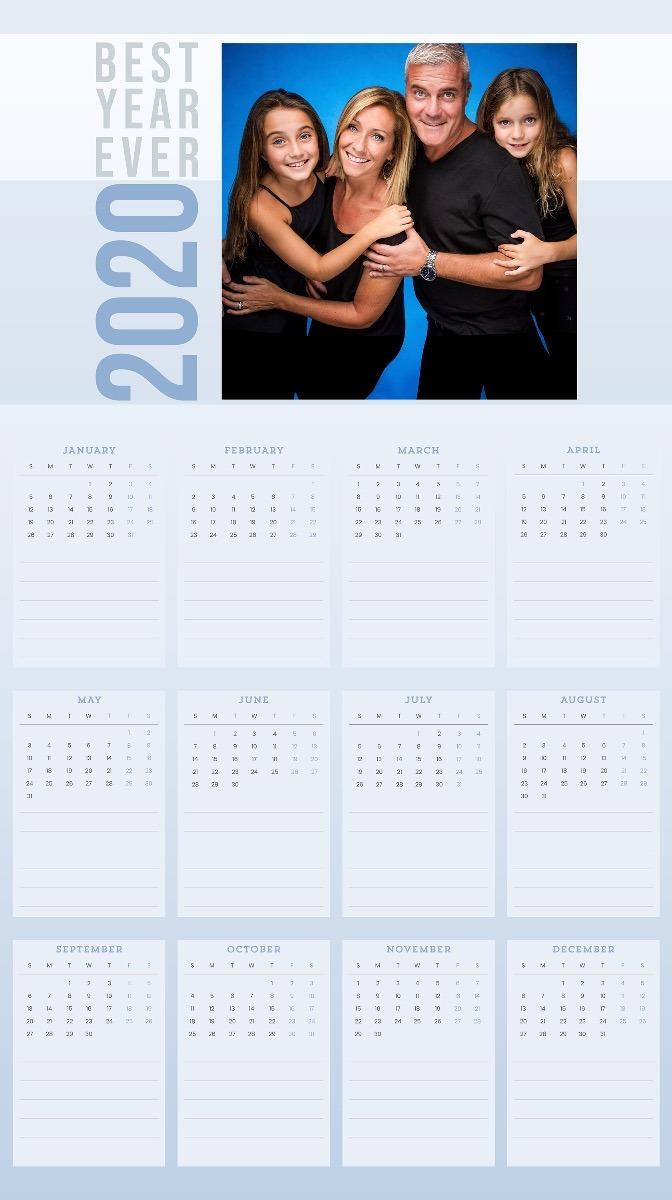 Family Hanging Wall Calendar-3005