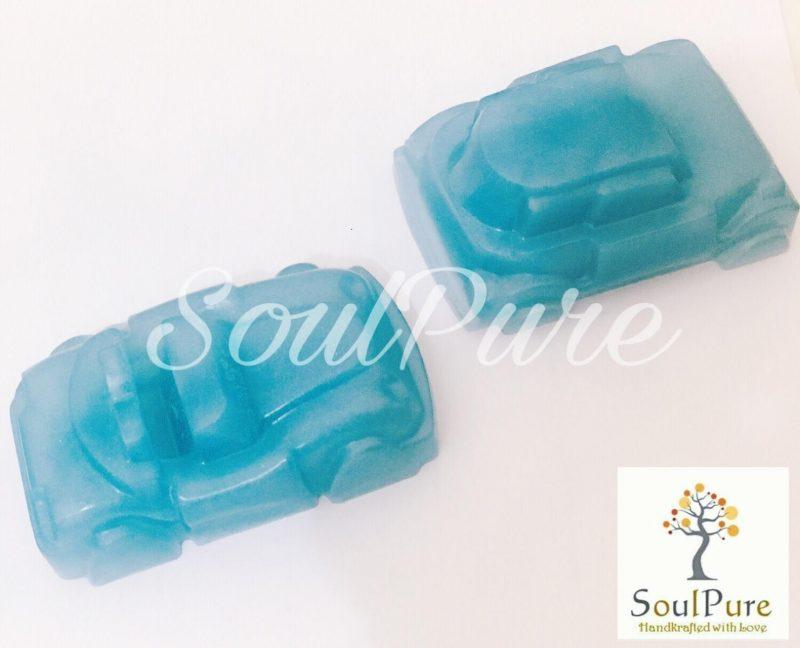 Car Themed Glycerin Soap for Kids- Handmade & Natural-0