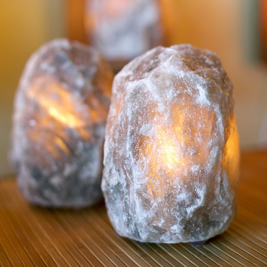 UltraRare Dark Grey Himalayan Salt Lamp - Himalayan Salty Treasures -0