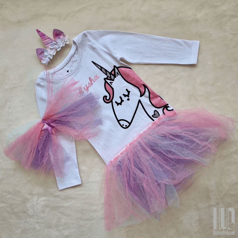 Unicorn dress up set (6 months to 3 years old)-2690