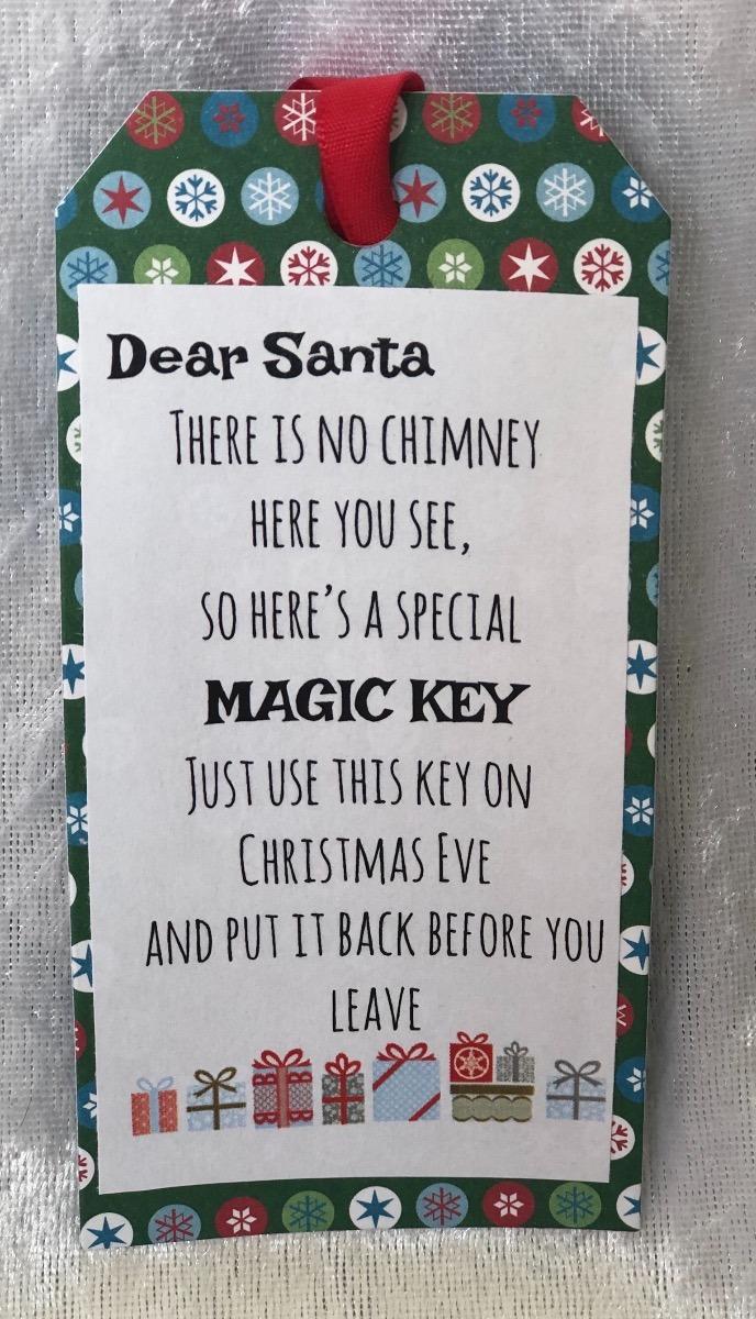Reindeer food and Santa keys-2772