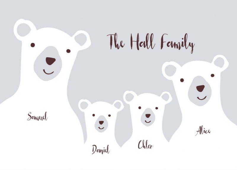 Family & Friends - Bears 1-1504