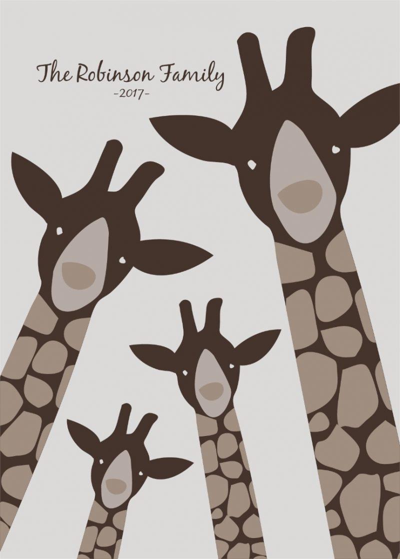 Family & Friends - Giraffes 1-1544