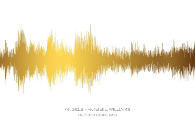 Family & Friends - Sound Waves 1-Black-Framed A3 print-1588