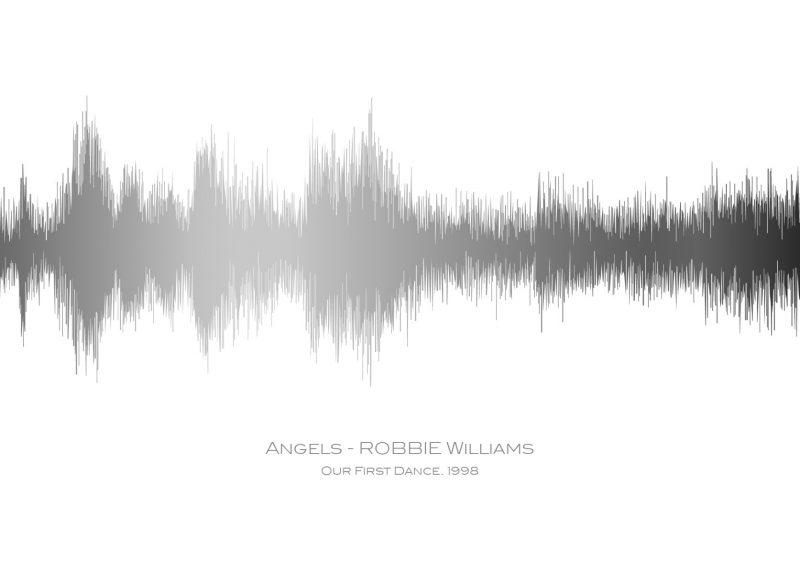 Family & Friends - Sound Waves 1-Black-Framed A3 print-1590