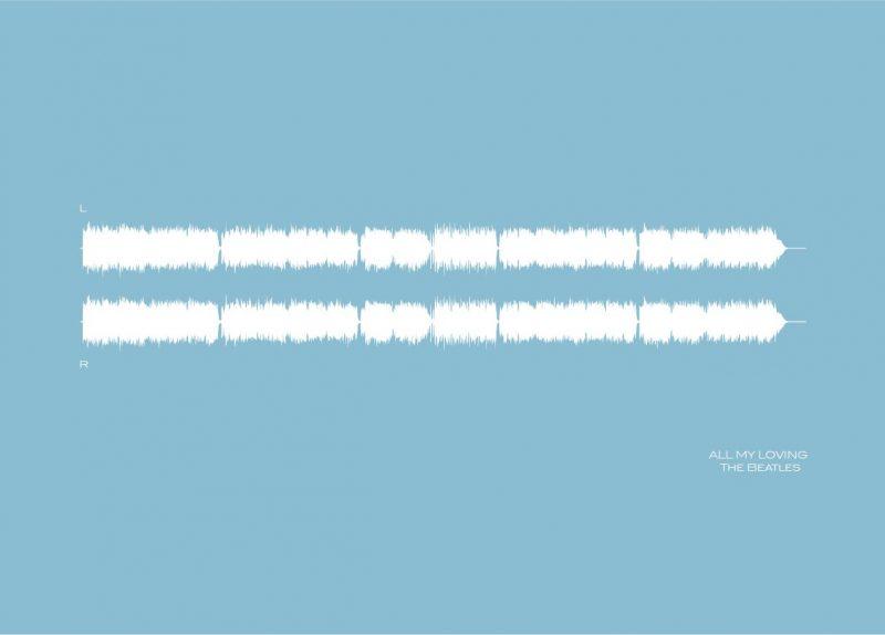 Family & Friends - Sound Waves 2-Framed A4 print-Black-0