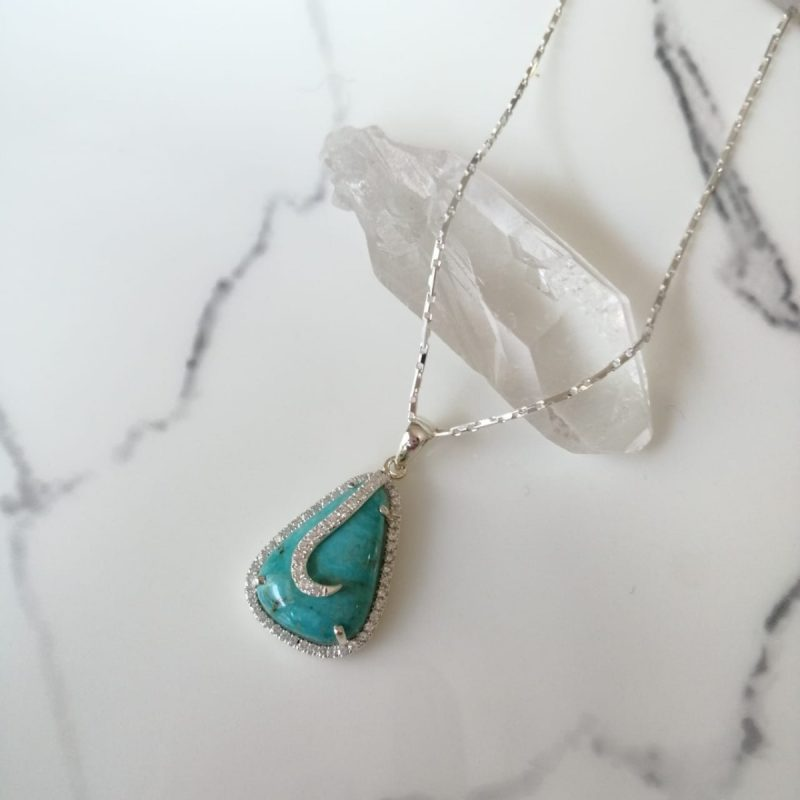 Turquoise Ocean Necklace-0