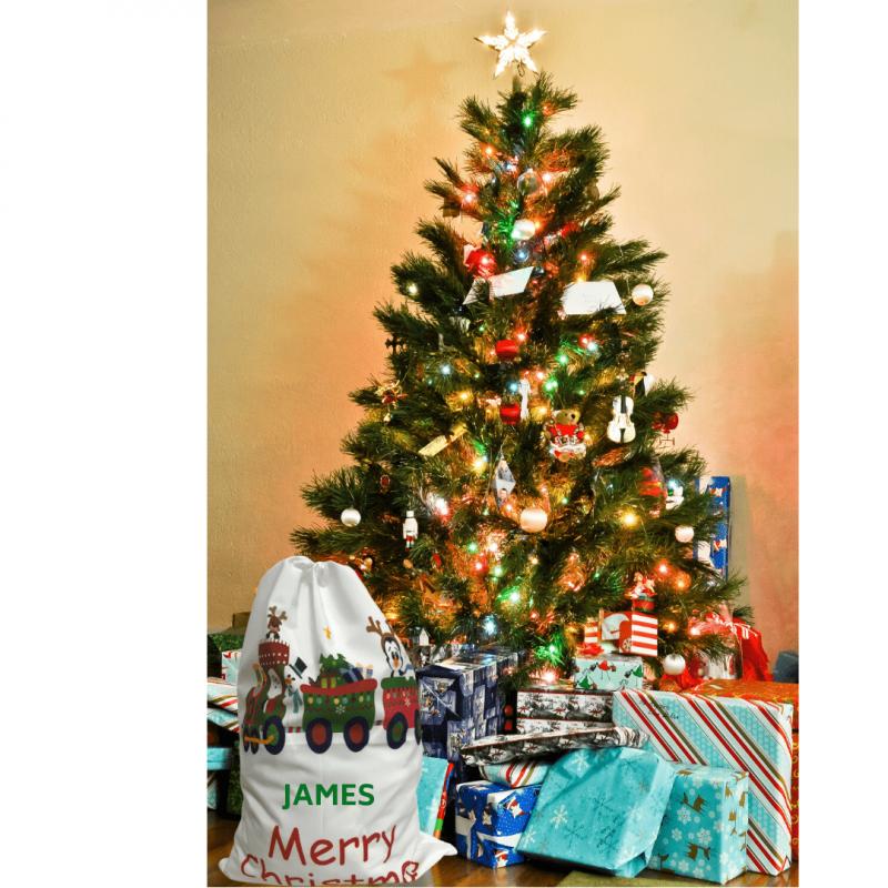 Personalized Santa Sack - Santa Express-3052
