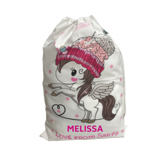 Personalized Santa Sack - Unicorn-0