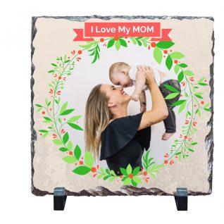 Personalised Print on Stone - I LOVE MY MOM-0