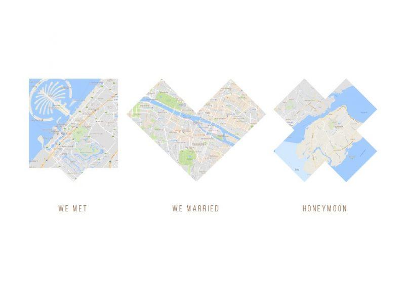 Map based iconic artwork-Black-Framed A3 print-1615