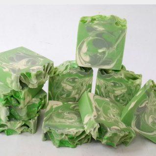 Green Apple Shea Butter Soap-Handmade & Natural-0