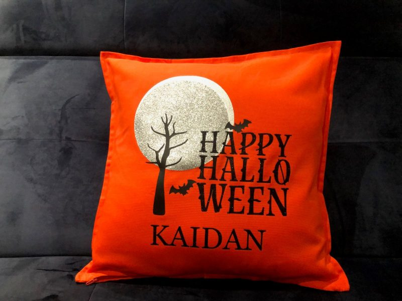Personalised Halloween Cushion-0