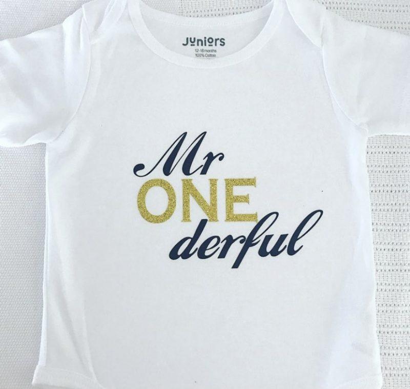 Mr.ONEderful Bodysuit / Onesie-0