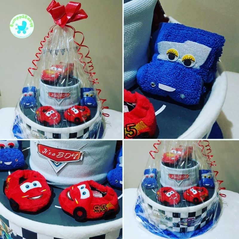 Twit Twwoo…. I Love You Owl nappy / diaper cake (made to order )-2195